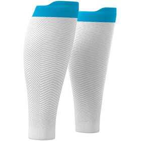 Compressport R2 Oxygen Kuitmouwen, white